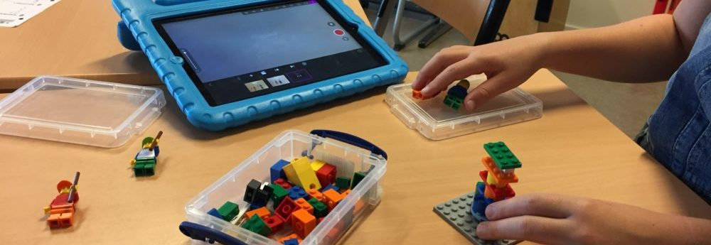 Maak een stopmotion video met een Ipad en Lego LearntoLearn!